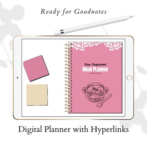 Digital Meal Planner