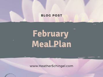 February Monthly Meal Plan