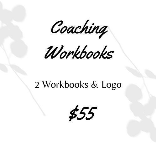 2 Coaching Workbooks & Logo