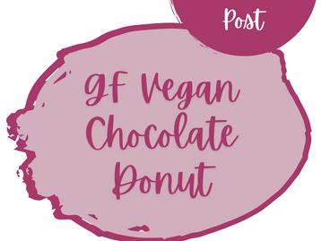 Chocolate Donuts - Gluten-Free - Vegan