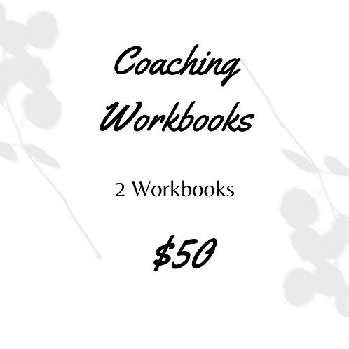 2 Coaching Workbooks