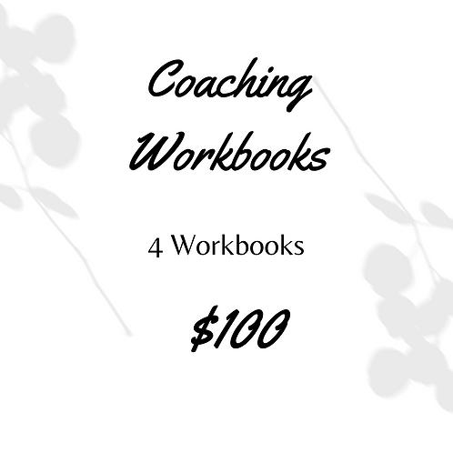 4 Coaching Workbooks