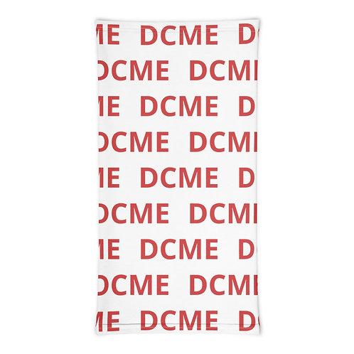 DCME RED/White Neck Gaiter