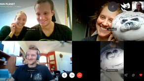 Experiences from a fully remote team