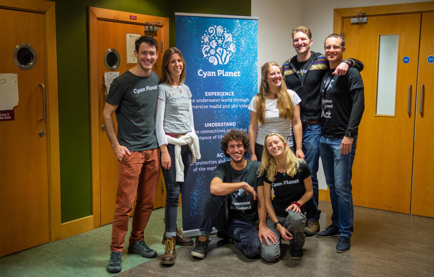 Cyan Planet Workshop Team