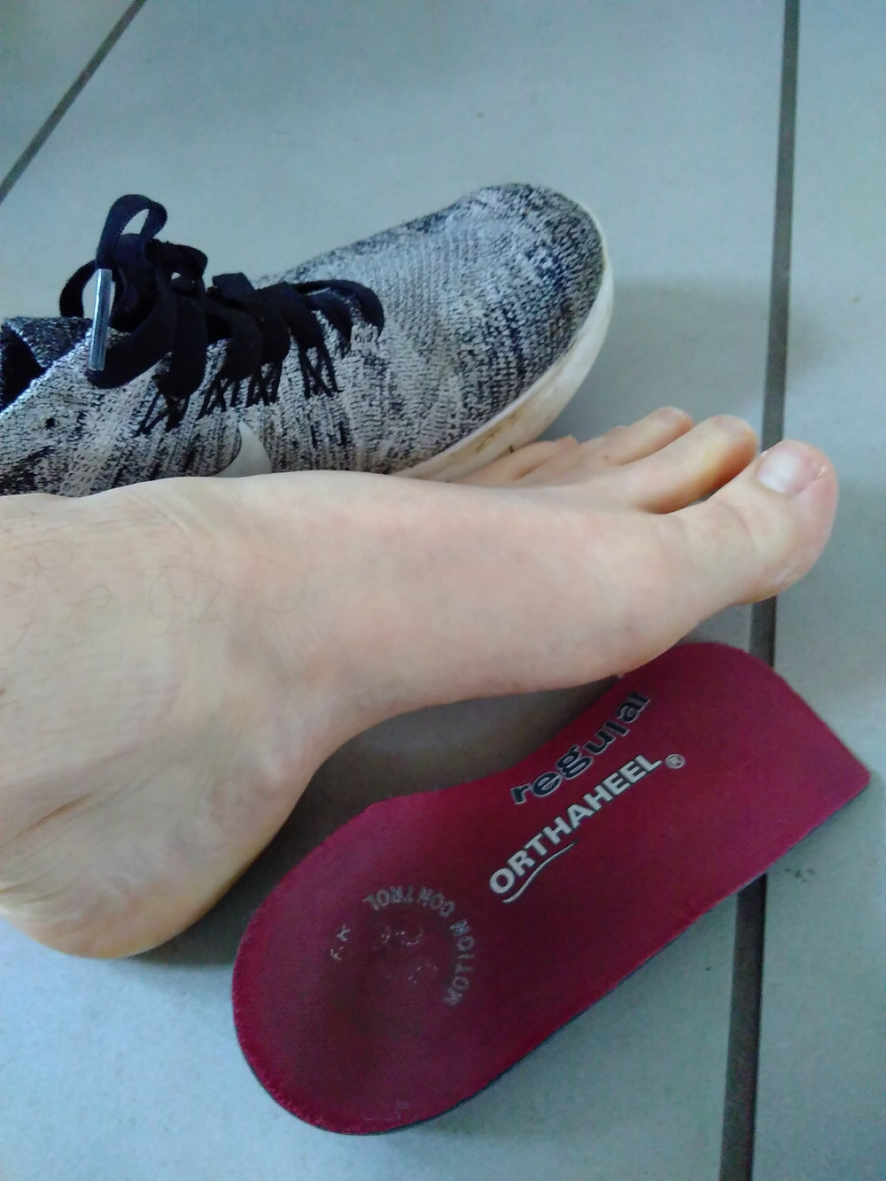 I used to need these arch supports in  ALL my shoes, all the time, or terrible foot pain.