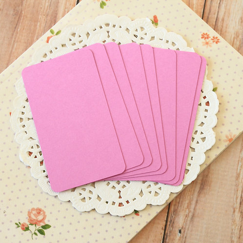 bouquet lilac blank business cards