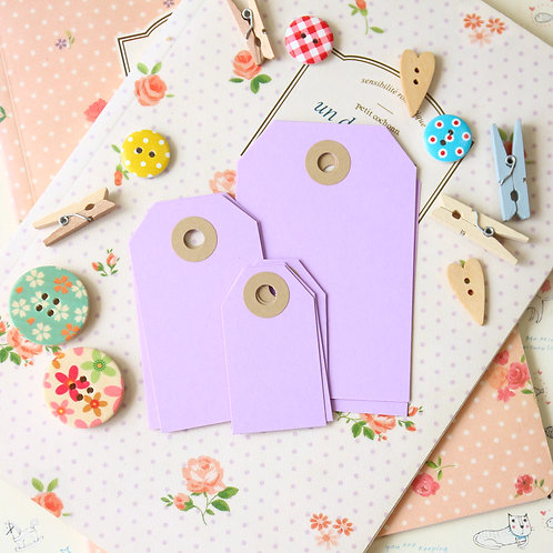 lilac papermill series luggage gift tags
