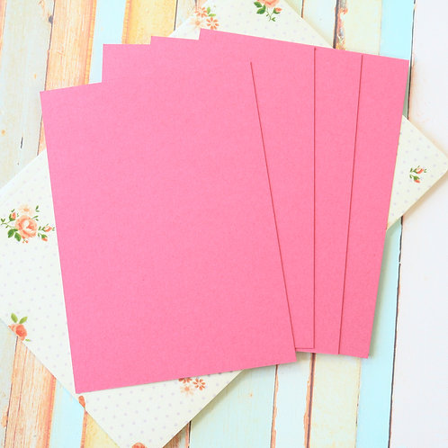raspberry punch craft style blank postcards