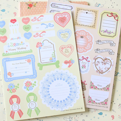 pitatte deco paper stickers