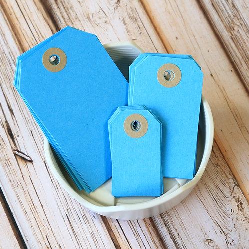 aquamarine blue colour luggage tags