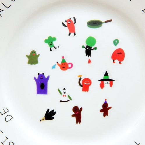 im cartoon food stickers