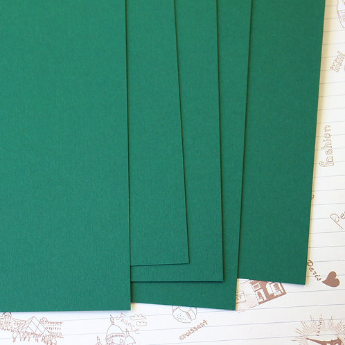 forest green papermill series card stock