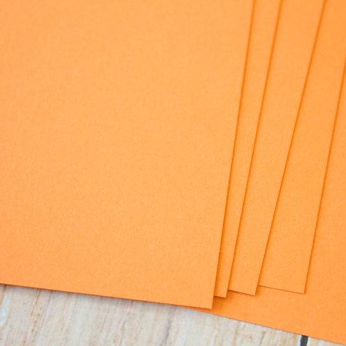 apricot orange vintage series card stock