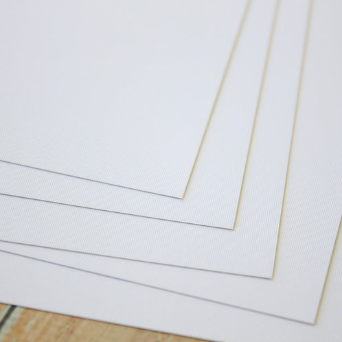 hope fresh white earth tones cardstock