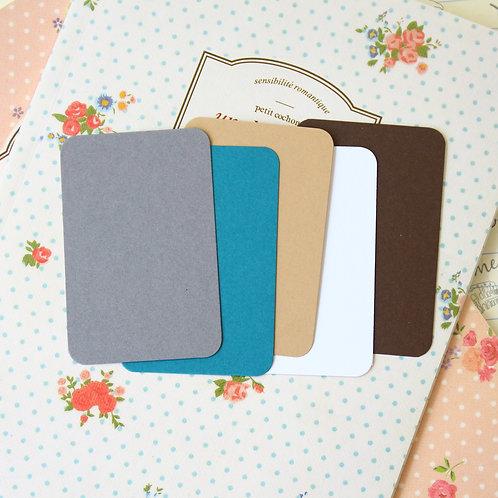 autumn colours mix papermill colour blank business cards
