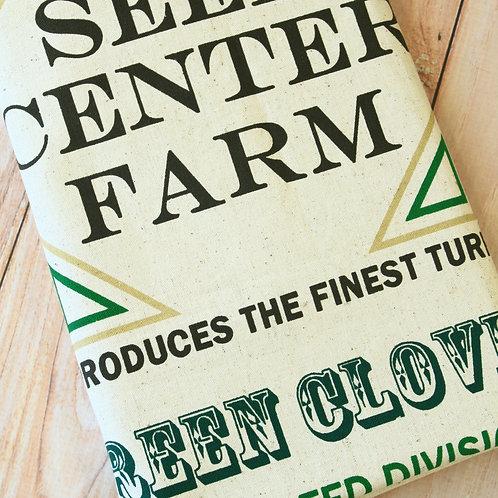 seed center farm coffee shop cotton linen fabric piece