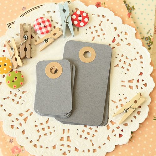 dark grey rounded rectangle tags