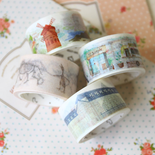 cardlover 3cm cartoon washi tape