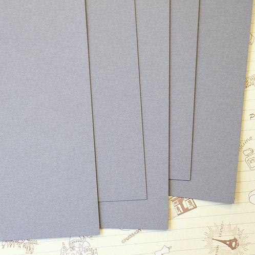 slate grey papermill series card stock