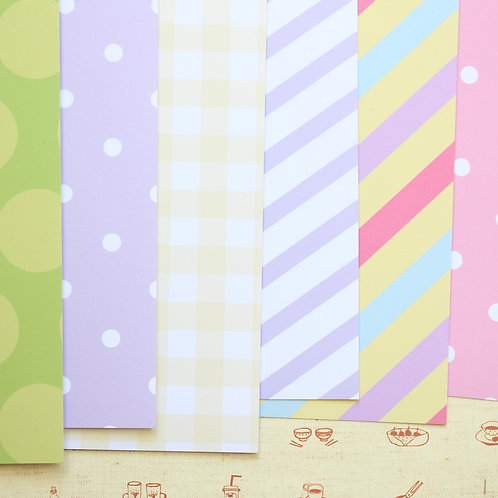 set 01 easter mix printed card stock