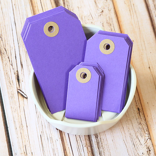 amethyst purple colour luggage tags