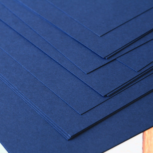 blueberry navy craft style cardstock