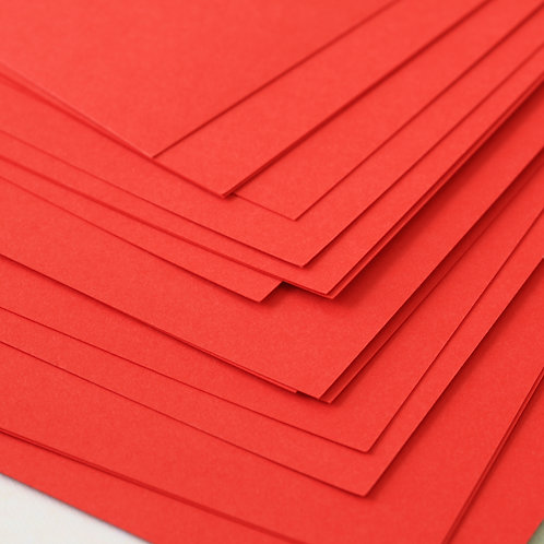 red apple craft style cardstock
