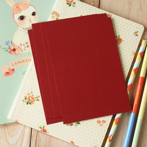 burgundy claret dark red eco postcard blanks