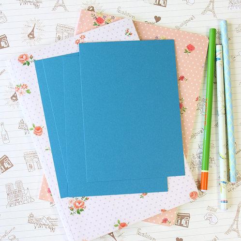 denim blue vintage series postcard blanks