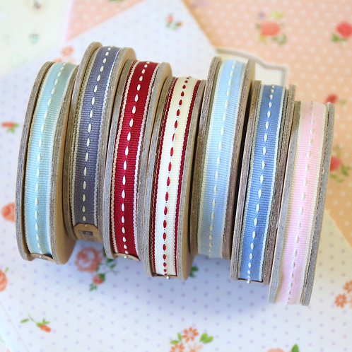 east of india thin stitched ribbons