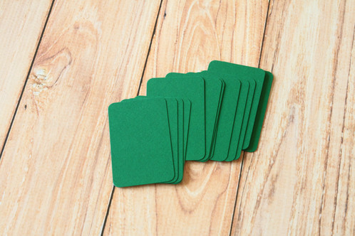 Holly green blank business cards reheart Images