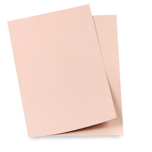 rose gold matte colour card stock