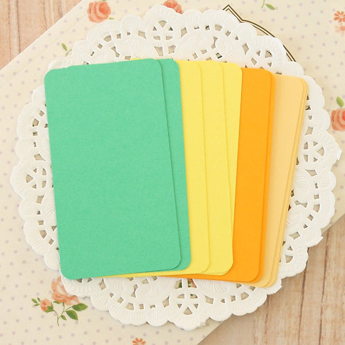 citrus mix blank business cards