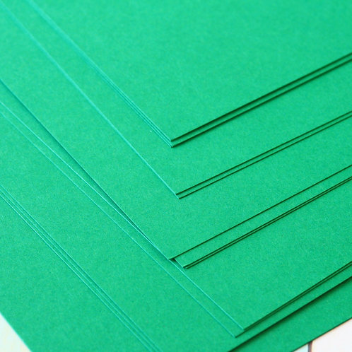 dark green craft style cardstock