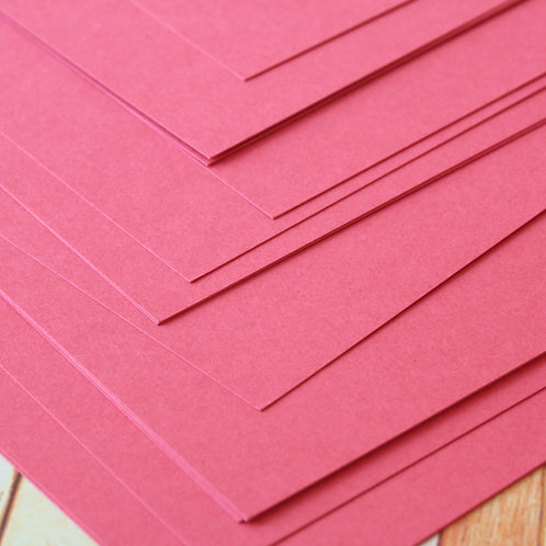 raspberry punch craft style cardstock