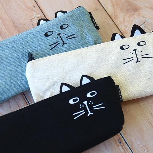 cute cat pen bag