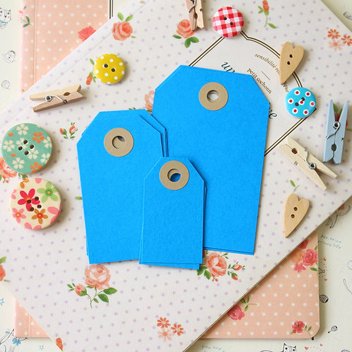 ocean blue papermill series luggage gift tags