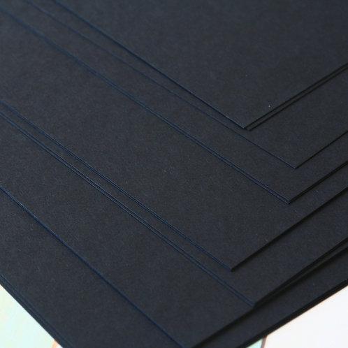ink black craft style cardstock