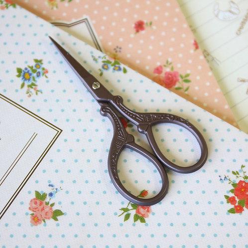 set h antique vintage style scissors