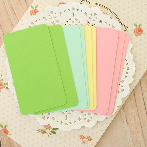 teacups mix blank business cards