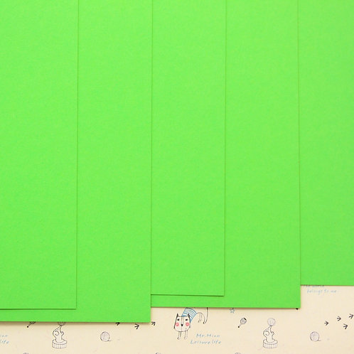 lime green colorset card stock