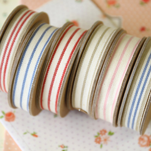 east of india stripe ribbons