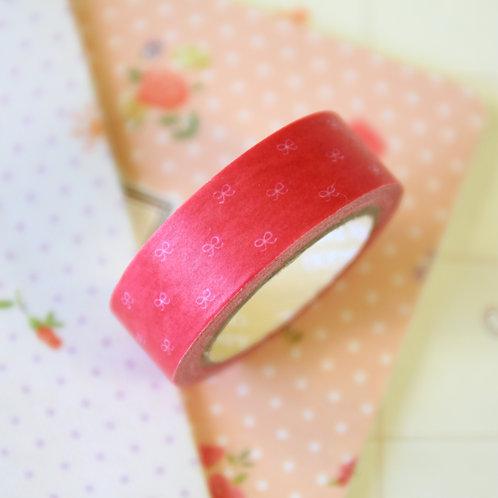 ribbon bows washi tape