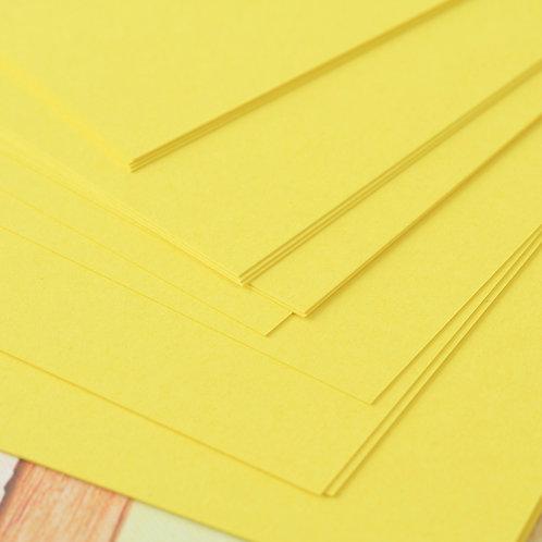 dandelion yellow craft style cardstock