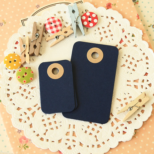 blueberry navy rounded rectangle tags