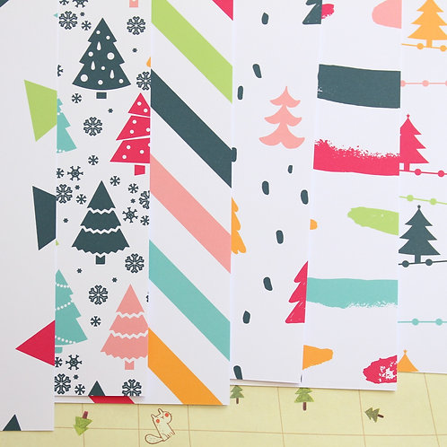 color pop holiday printed card stock