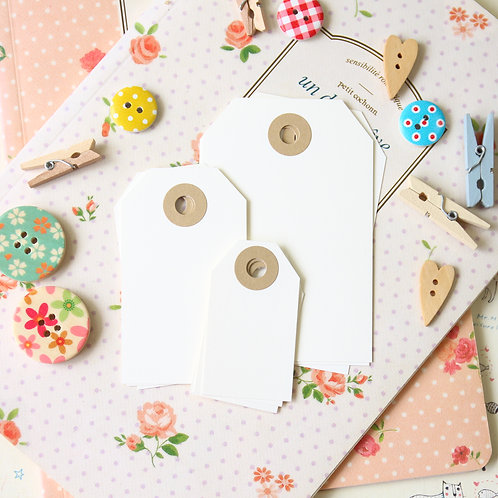 ivory papermill series luggage gift tags