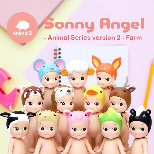 2018 sonny angel doll mini figure - animal series 2