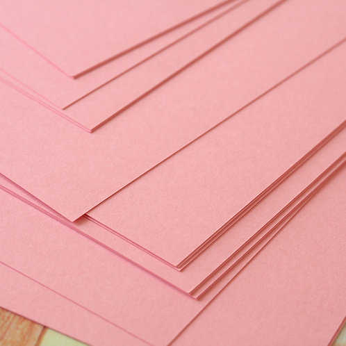 bubblegum pink craft style cardstock